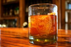 High West Grand Duel  1.5 oz. High West Double Rye! 0.5 oz. Amaro Nonino .25 oz. Allspice Dram .25 oz. Aperol Bar Spoon Lagavulin   Stir together in mixing glass, garnish with an orange twist.