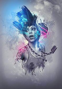art, character, color, colors, colour, contraste