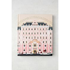 The Wes Anderson Collection: The Grand Budapest Hotel By Matt Zoller... ($35) ❤ liked on Polyvore