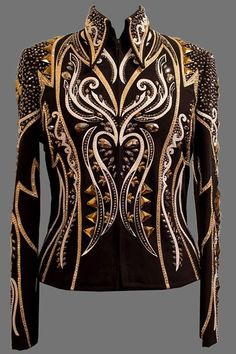 Western Show Shirts, Western Show Clothes, Horse Show Clothes, Western Wear, Western Style, Stage Outfits, Fashion Outfits, Womens Fashion, Showmanship Jacket