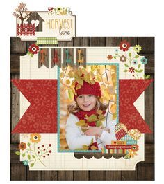 Scrapbooking Ideas for Beginners - 1 page, 1 photo, themed, title, person