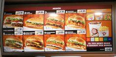 burger king menu - Google Search