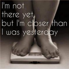 I was farther away than I was yesterday... #sad #backonit #weightlossjourney
