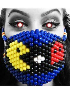 Miss Pacman Kandi Mask