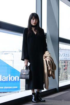 ストリートスナップ渋谷 - 山本 奈衣瑠さん | Fashionsnap.com Yamamoto, Duster Coat, Street Style, Jackets, Image, Women, Down Jackets, Urban Style, Jacket