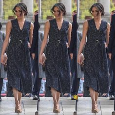 Do you like her outfit ? 🔥💕Prince Harry and Meghan Markle attended a memorial service held at St Martin-in-the-Fields Church in London… Royal Families Of Europe, Prince Harry And Meghan, Meghan Markle, Memories, Funeral Outfits, London, Fields, Dresses, Fashion