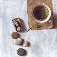 Por Amor al Arte: Sorprendente tecnica en las pinturas del artista búlgaro. Boyko Kolev.