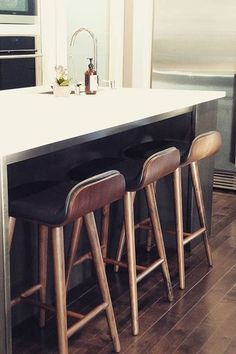 One, two, three? Our stools come one by one so you can get the right amount for your space.