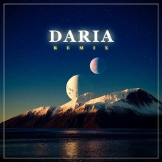 Daria - album cover.  Mountains created with World Machine and rendered with Terragen.