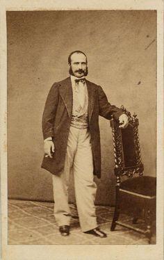 Fernandez: retrato caballero, CDV 1875.  Hesperus´ Collection