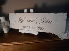 SAVE THE DATE wedding  sign  Cottage, Chippy, Distressed