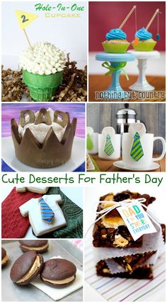 Father's Day Desserts #FathersDay http://www.momsandmunchkins.ca/2014/05/21/fathers-day-desserts/