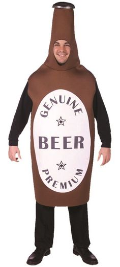 Beer Bottle Party Costume | Costume Accessory | Party Supplies