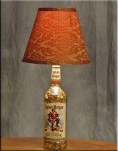 Captain Morgan Bottle Lamp Giveaway | How to Make A Bottle Lamp