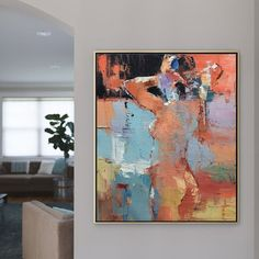 Abstract Canvas Wall Art, Canvas Painting Landscape, Seascape Paintings, Oil Painting On Canvas, Beautiful Paintings, Personal Investigation, Woman Bedroom, Human Body, Acrylics