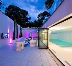 London - Indoor Pool + Patio