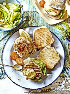 Nathan Outlaw's seafood burger | Jamie Oliver