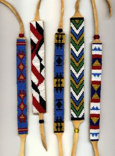 Free Indian Beadwork Patterns | Free Native American Seed Bead Patterns (11/30/2012)