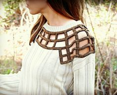 Trash To Couture: DIY Embellished Sweater