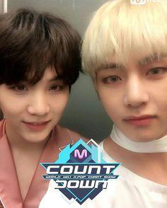 Yoongi and Taehyung