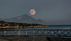 My Moon. by Giannis Kotronis on Moon, Celestial, Photography, Outdoor, The Moon, Outdoors, Photograph, Fotografie, Photoshoot