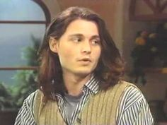 Johnny Depp on Regis and Kathie Lee in 1993  why is he so amazing and why don't they make people like him anymore ?!