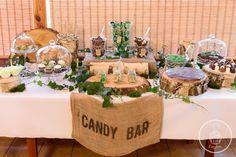 Znalezione obrazy dla zapytania candy bar rustykalny