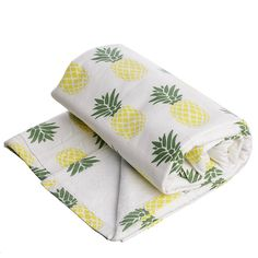 Badetuch 'Ananas-Gelb'