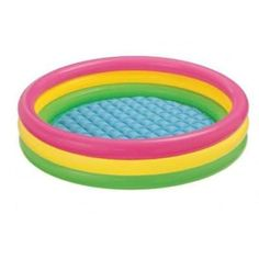 Intex Kiddie Pool - Kid's Summer Sunset Glow Design - x from durable vinyl Kids Sunset Glow inflatable pool-Dimensions: 9 x x 10 inches ; pounds-Ebook for You x Constructed from durable vinyl. Kids can beat the heat in the Sunset Glow inflatable pool.