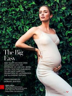 Love Emily blunt she is stunning in this vogue spread