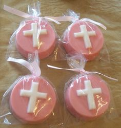 18 chocolate covered oreos for baptism $18