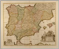 Map Of Spain Old.40 Best Antique Maps Of Spain Images In 2015 Antique Maps Old