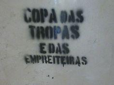15 de Maio (quinta): DIA INTERNACIONAL DE LUTAS CONTRA A COPA-manifestações em Sampa, Brasília, Porto Alegre, Salvador,  Vitória, Cuiabá, Cu...