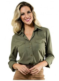 0ab9b935c 38 Best camisa verde militar images | Fashion clothes, Fall winter ...