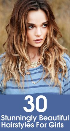 Lets look at some of the popular and different yet simple hairstyles for girls that are ruling the trends charts this season!