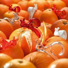 Orangenschäler Emma P. transparent orange