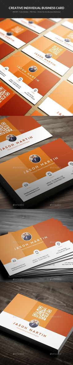 Creative Individual Business Card - 14 - Creative Business Cards #businesscards