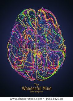 Vector colorful illustration of human brain with synapses. Conceptual image of idea birth, creative imagination or artificial intelligence. Net of lines forms brain structure. Artificial Intelligence Article, Artificial Intelligence Algorithms, Machine Learning Artificial Intelligence, Brain Poster, Brain Illustration, Artificial Neural Network, Brain Structure, Brain Art, Anatomy Art