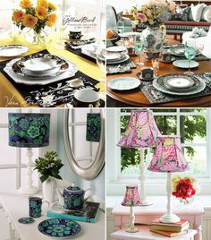 Vera Bradley Heads to the Kitchen with DinnerwareCollection - Brenda's Wedding Blog - wedding blogs with stylish wedding inspiration boards - unique real weddings - wedding vendors