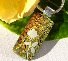 Green and Gold by Sarah on Etsy