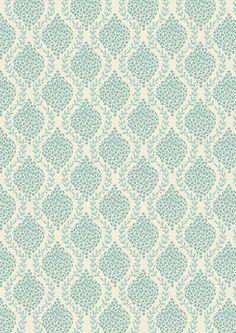 """""""Spring Hare"""" blau, grün, Pastell, Lewis & Irene von FrauFrech-und-HerrFroehlich auf DaWanda.com"""