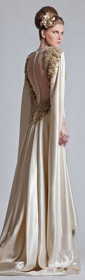 KRIKOR JABOTIAN COUTURE SPRING-SUMMER 2013  www.finditforweddings.com