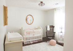 Antique French Inspired Vintage Nursery | Project Nursery