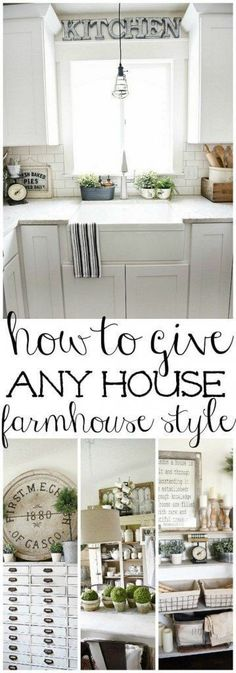 How to Give Anything Farmhouse Style by Liz Marie   DIY Farmhouse Projects for Fixer Upper Style