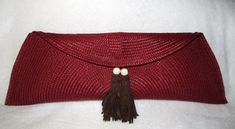 WobiSobi: Red Placemat Clutch