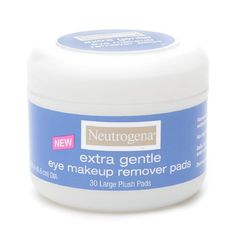 Neutrogena Extra Gentle Eye Makeup Remover Pads 30 ea ** Click image to review more
