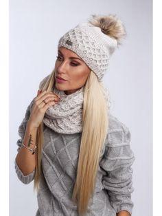 Béžový dámsky set čiapka + šál C24 - Dámske čiapky - Locca.sk Winter Hats, Fashion, Moda, La Mode, Fasion, Fashion Models, Trendy Fashion