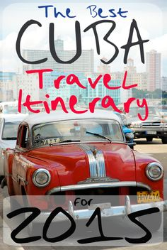 Travel to Cuba in 2015!