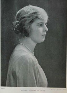 Prinzessin Theodora aus von Griechenland und Dänemark. Tochter von Prinz Andreas von Griechenland und Alice von Battenberg, Schwester von Prinz Philipp.