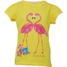 Board Angels Girls Flamingo T-Shirt Yellow Board Angels cap sleeve tee. http://www.MightGet.com/february-2017-2/board-angels-girls-flamingo-t-shirt-yellow.asp